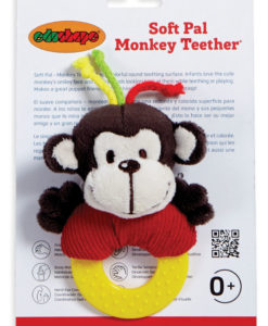 Soft Pals – Monkey Teether