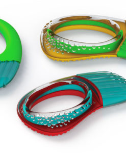 Color-rific Teething Rattle