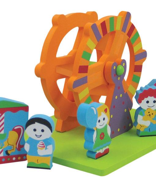 FLOATING 3D's – Amusement Park