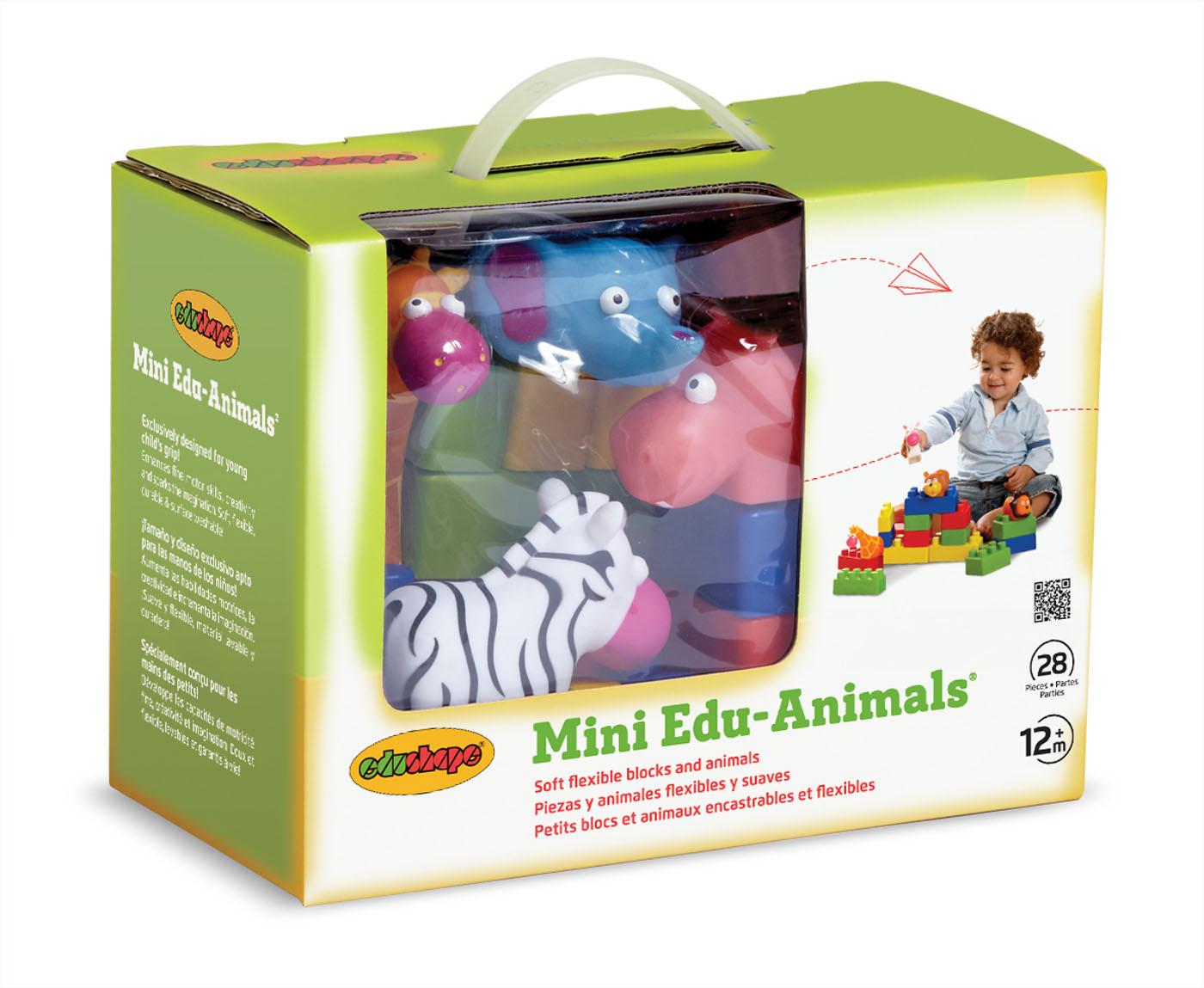 Mini Edu Animals-set