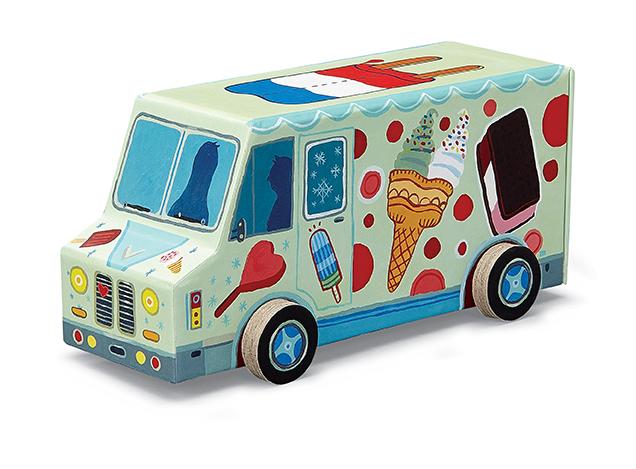 Ice Cream Truck Vehicle Puzzle