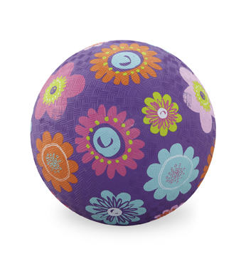 Flowers Purple Playball