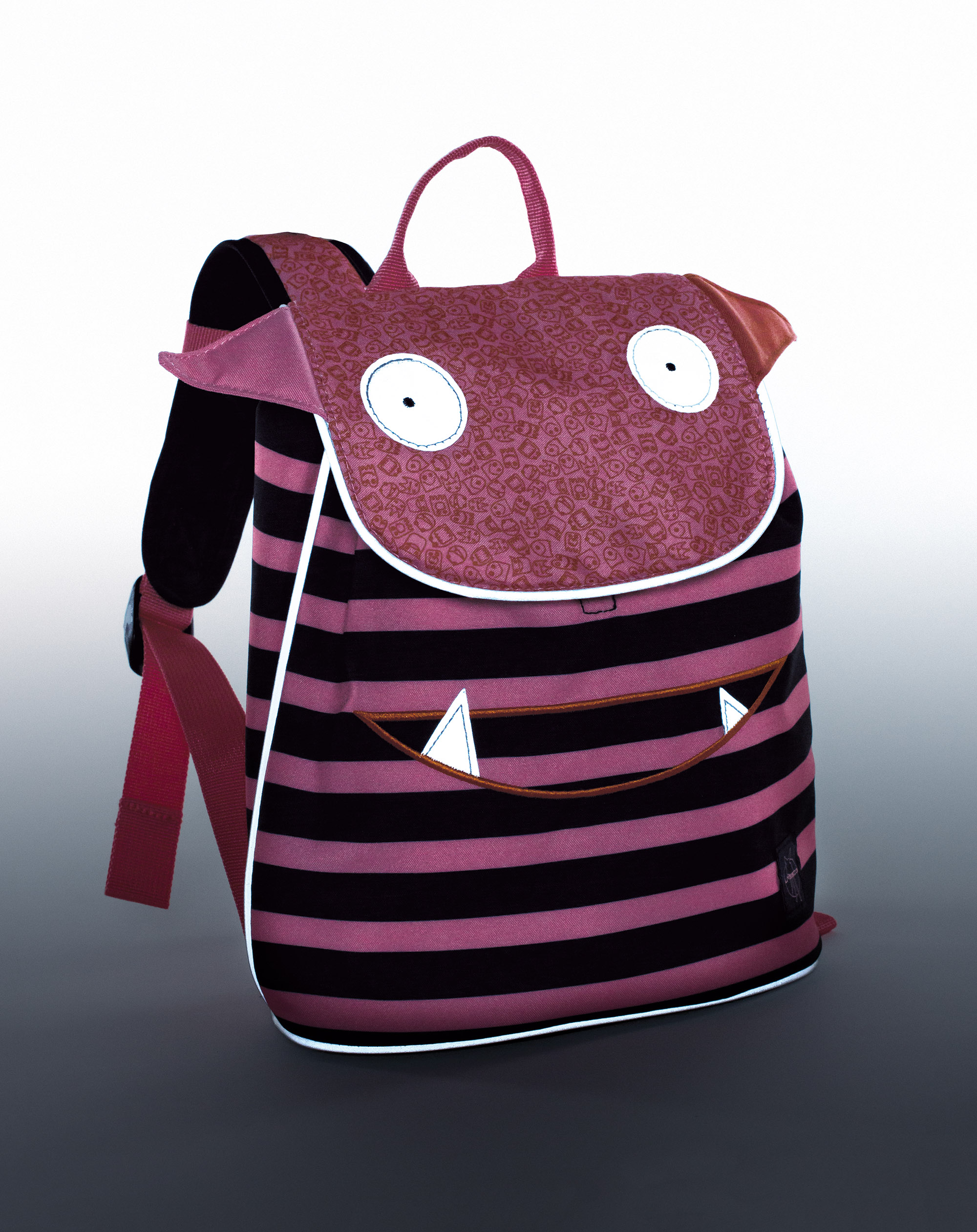 5173bcea13 Laessig Mini Duffle τσάντα πλάτης Little Monsters - Je t aime