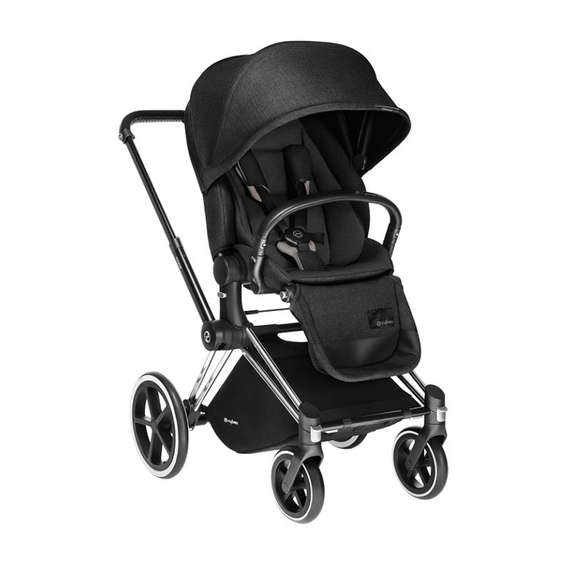 Cybex Καρότσι Priam Lux Black Beaty