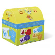 Animal Colors 2-piece First Puzzle