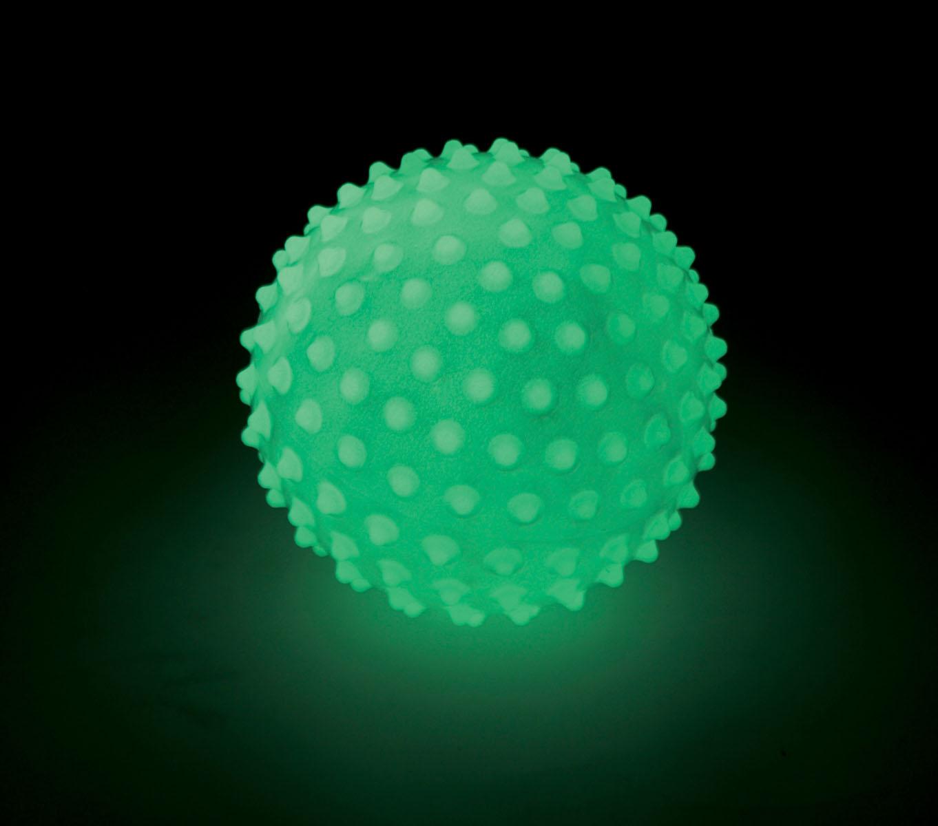 Glow in the dark sensory ball