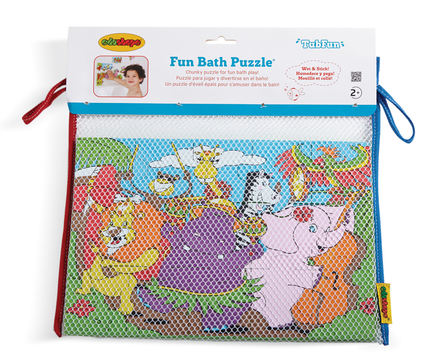Bath Fun Puzzle : Jungle