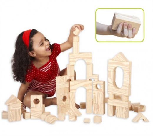 Wood-like Soft Blocks – Μαλακά Τουβλάκια με Όψη Ξύλου