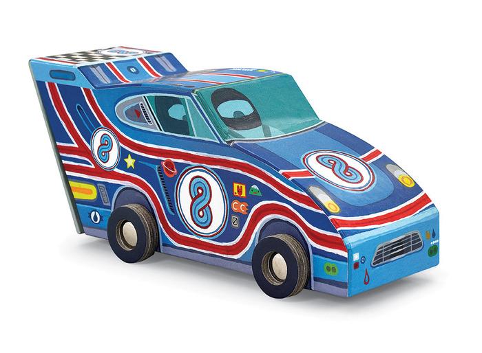 Race Car Vehicle Puzzle