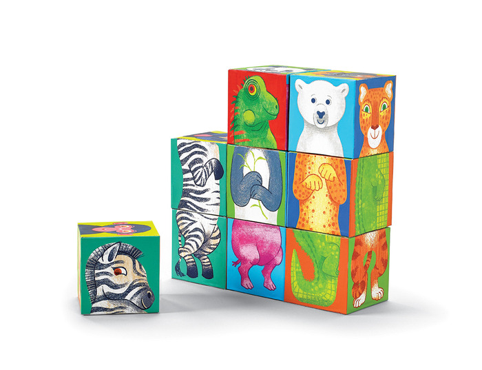 Make A Zoo Mix & Match Block Puzzle
