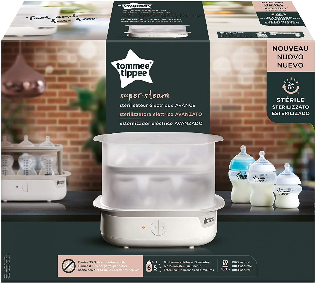 Tommee Tippee Αποστείρωση