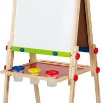 Hape Early Explorer Ξύλινος Πίνακας All-In-One Easel_1