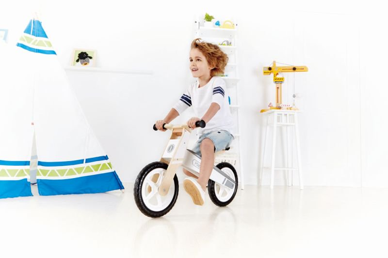 Hape Early Explorer Ξύλινο Balance Bike Wonder_3