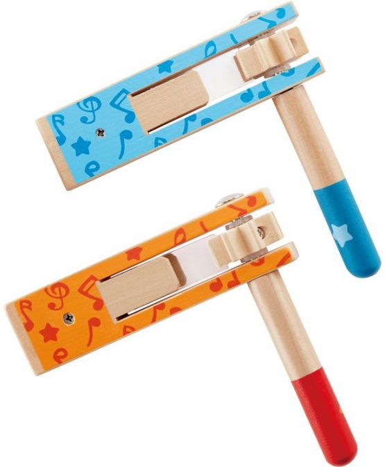 Hape Early Melodies Ξύλινη Ροκάνα Happy Noisemaker