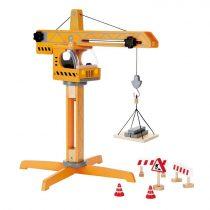 Hape Playscapes Ξύλινος Γερανός Crane Lift_1
