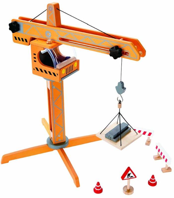 Hape Playscapes Ξύλινος Γερανός Crane Lift_2