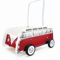 Hape Push & Pull Ξύλινη Στράτα Classical Bus_1