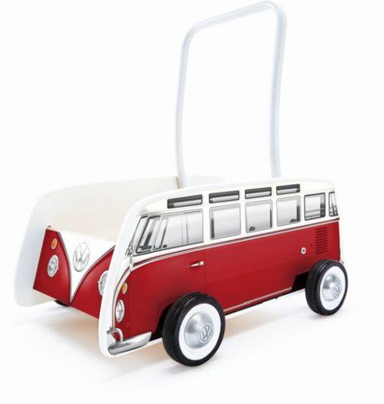 Hape Push & Pull Ξύλινη Στράτα Classical Bus