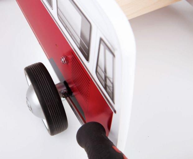 Hape Push & Pull Ξύλινη Στράτα Classical Bus_4