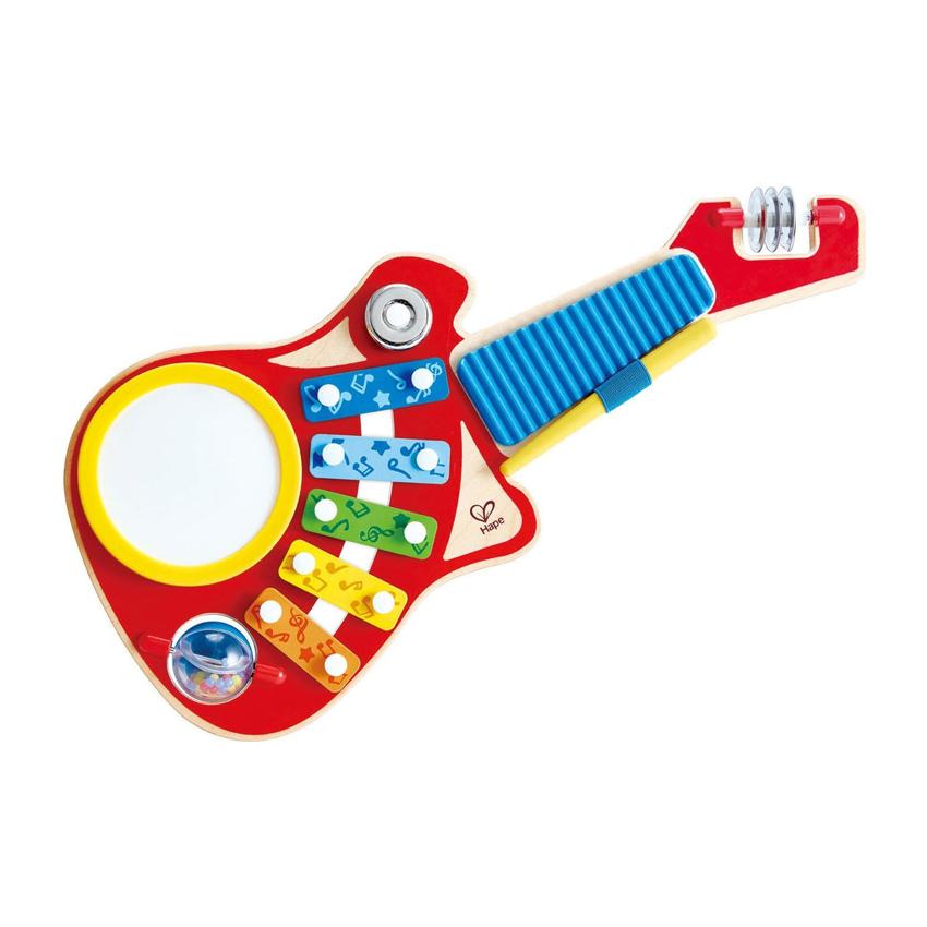 Hape Ξύλινο Μουσικό Παιχνίδι – Κιθάρα