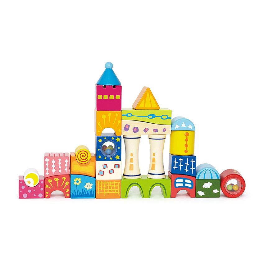 Hape Ξύλινα Τουβλάκια – Κάστρο
