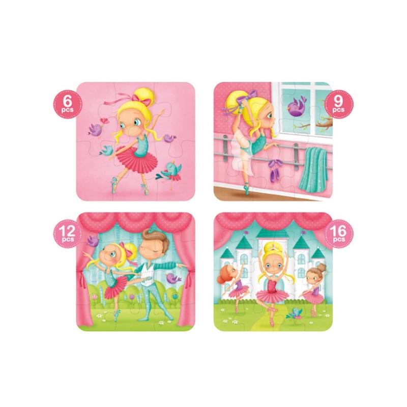 puzzle-4-in-1-ballerina