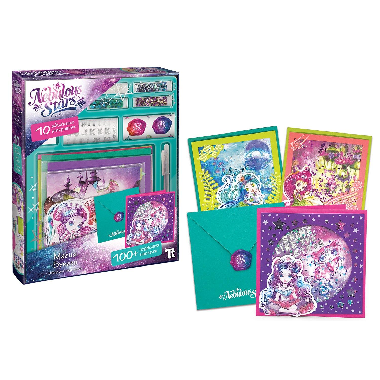 Set-for-creating-postcards-magic-paper-Nebulous-Stars-11109