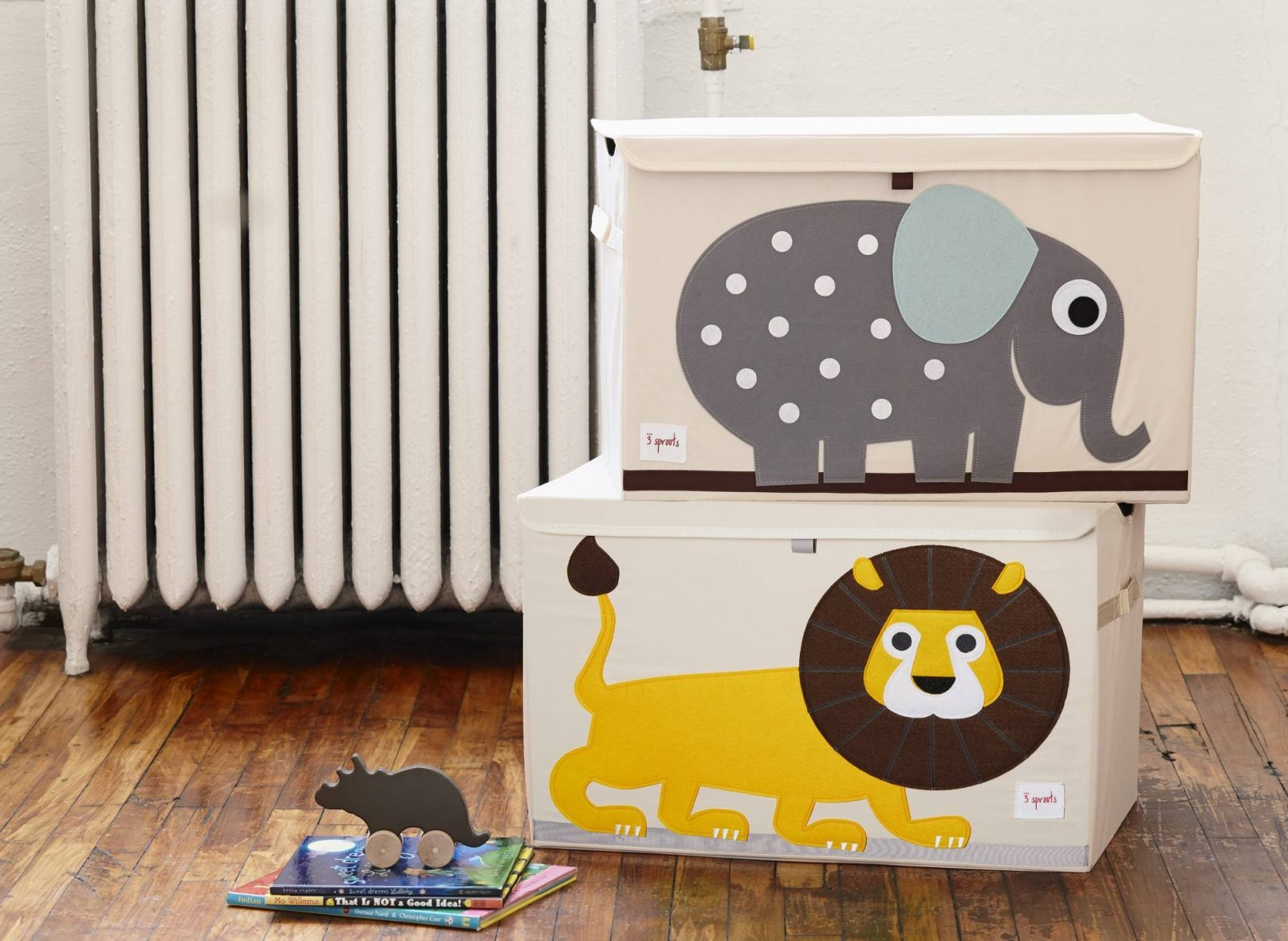 Lion toy chest1