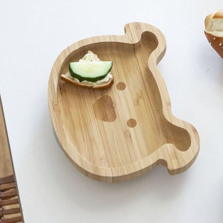 Πιάτο από ξύλο & μπαμπού