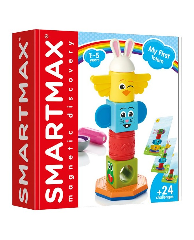 """SmartMax εκπαιδευτικό παιχνίδι """"Παρατηρώ και φτιάχνω Τοτέμ"""""""