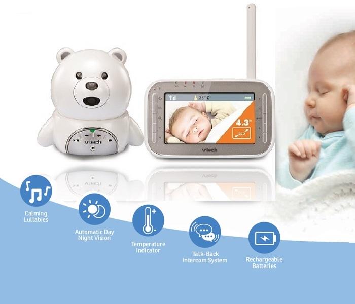 Baby Monitor Video BM4200 Bear