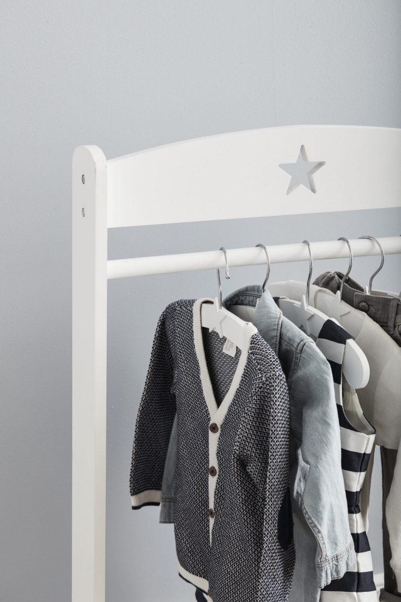 kids concept Clothes_Rail_Star_White_1