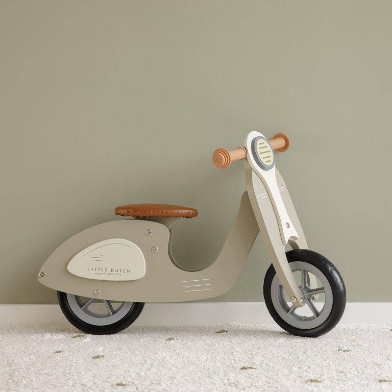 """Ξύλινο Ποδήλατο ισορροπίας """"Vespa"""""""