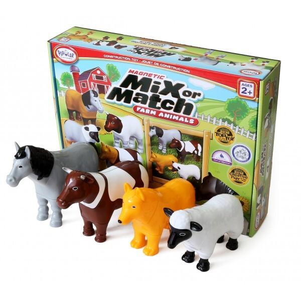 """Μαγνητικά Ζωάκια """"Mix or Match Farm"""""""