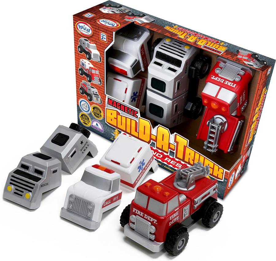 """Μαγνητικά Οχήματα Άμεσης Ανάγκης """"Build – A – Truck"""""""